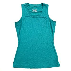 Under Armour Teal Fitted Sleeveless Top